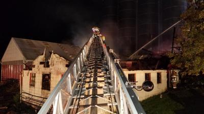In wake of devastating fire at Benton Twp. dairy farm, fundraising efforts start to take shape