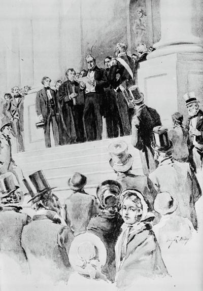 BUCHANAN INAUGURATION 1857