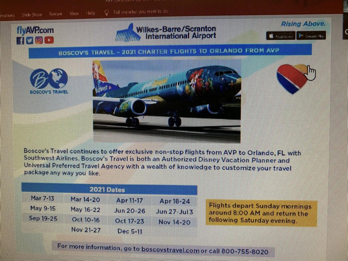 Airport gaining Washington, D.C., and Orlando service