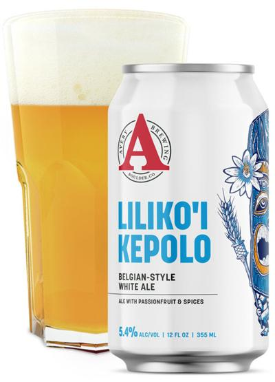 Passion fruit the star of Liliko'l Kepolo ale