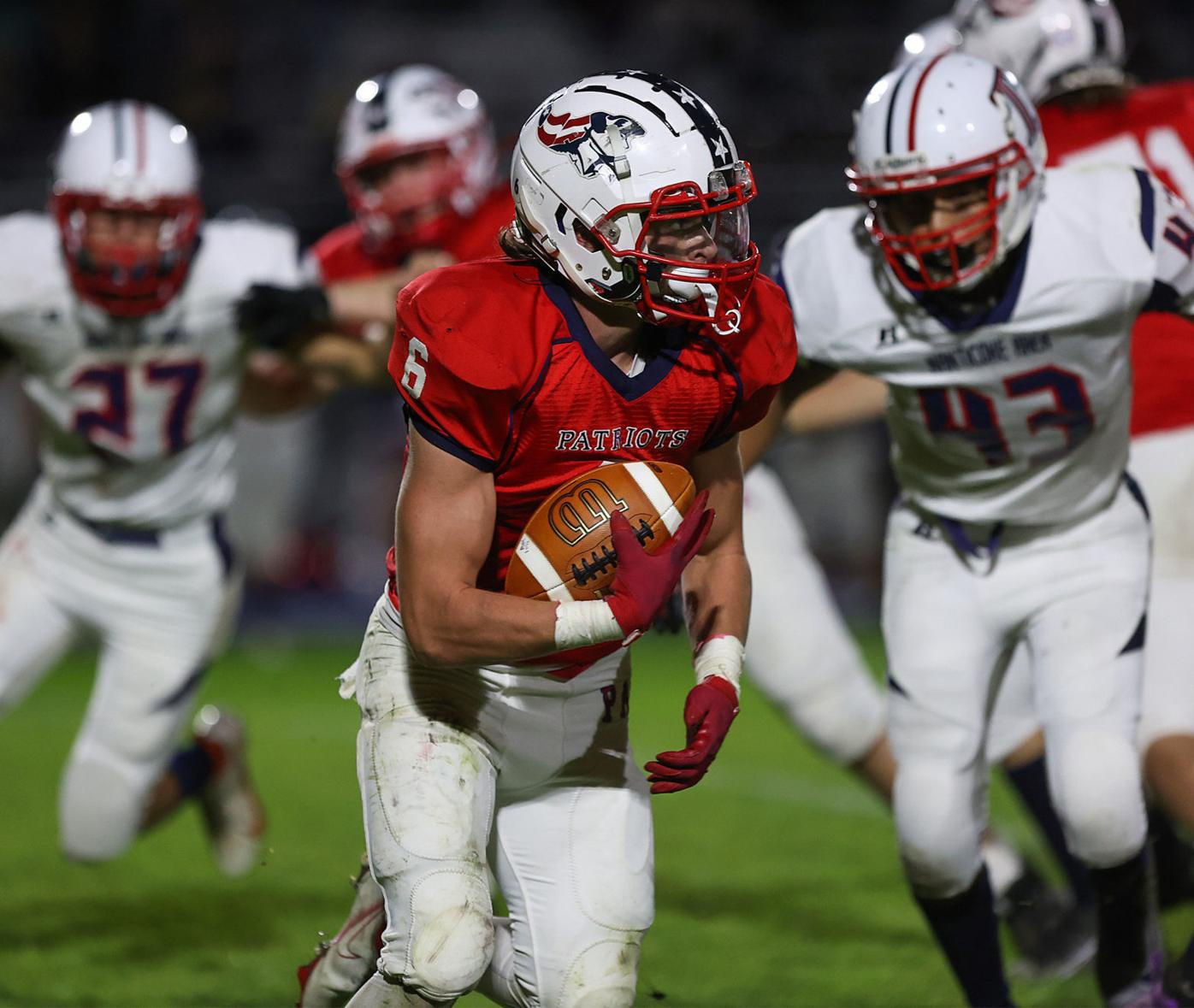 High School Football: Pittston Area vs Nanticoke Area