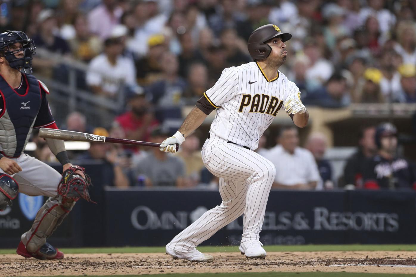 Nationals Padres Baseball