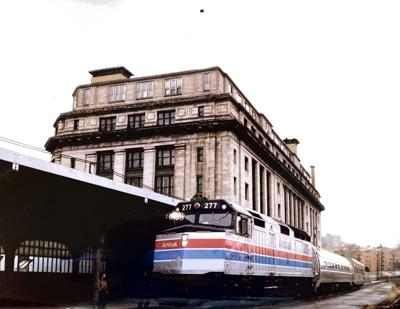 Long ago, Amtrak ran a train to Scranton, but only once