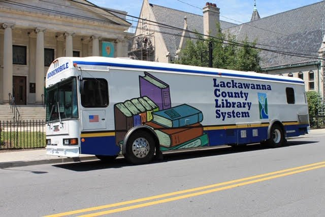 On the road again: Lackawanna County Library System's Bookmobile returns to service