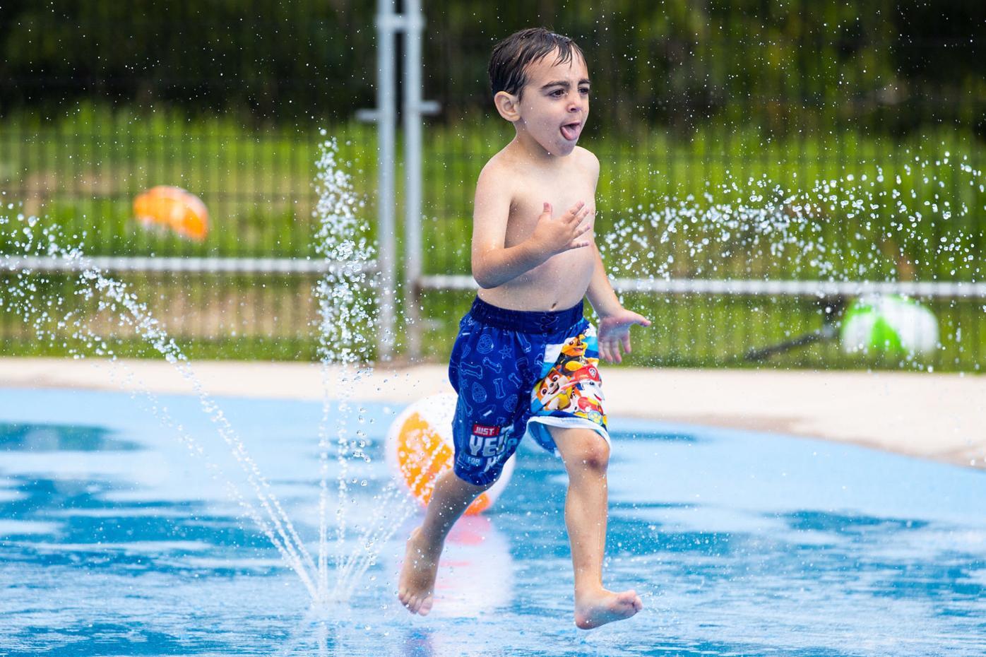 Making a splash in Scranton