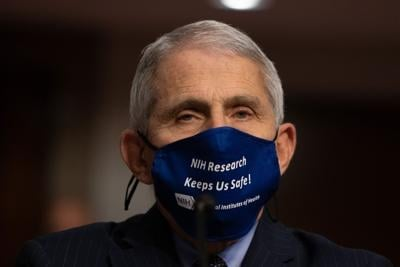 Anthony Fauci, director of National Institute of Allergy and Infectious Diseases at NIH.