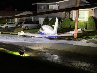 Moosic plane crash