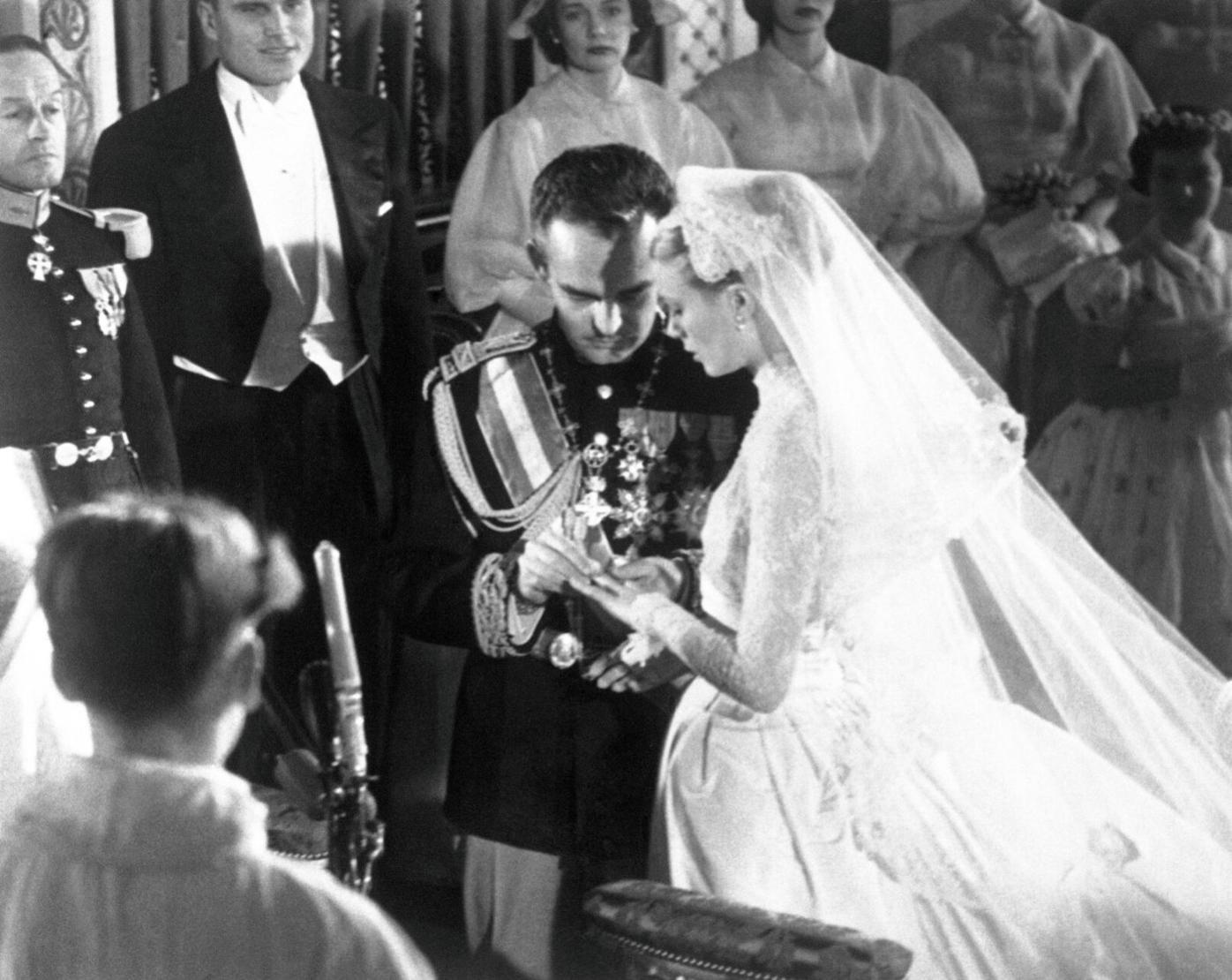 Prince Rainier Grace Kelly Wedding