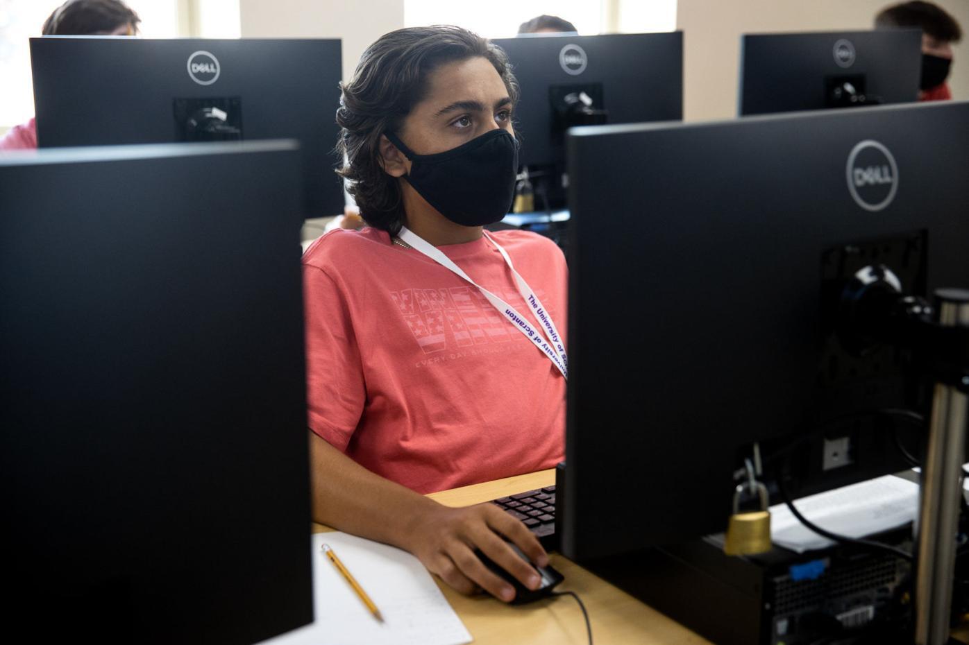 University of Scranton cyber crime investigation camp