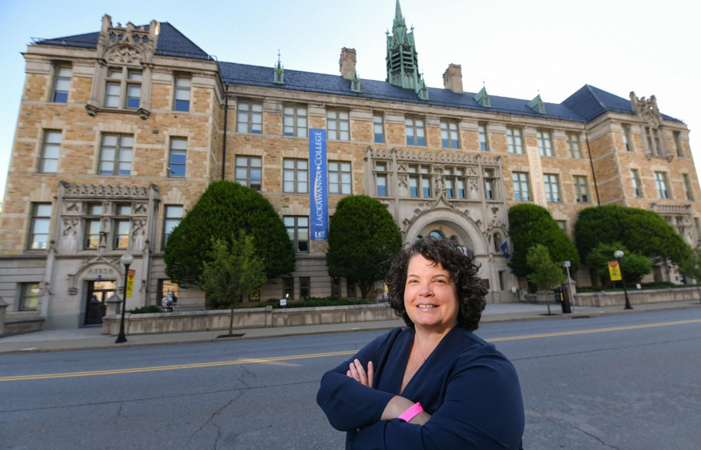 First woman, former UPS driver to become president of Lackawanna College this week