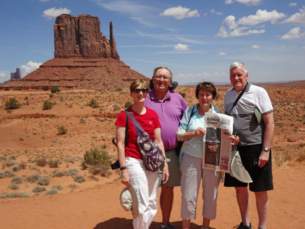 Devoted Times Travelers visit