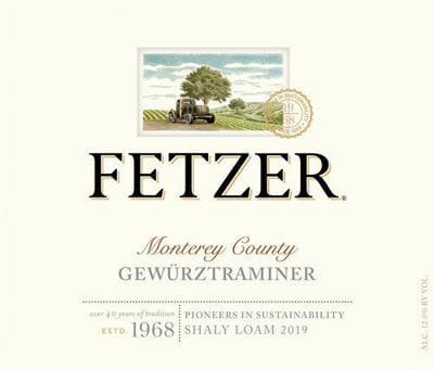 Fetzer 2019 Monterey Gewurtztraminer