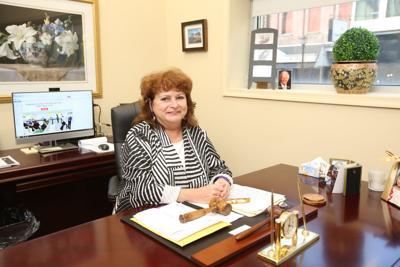 Lackawanna County President Judge Trish Corbett