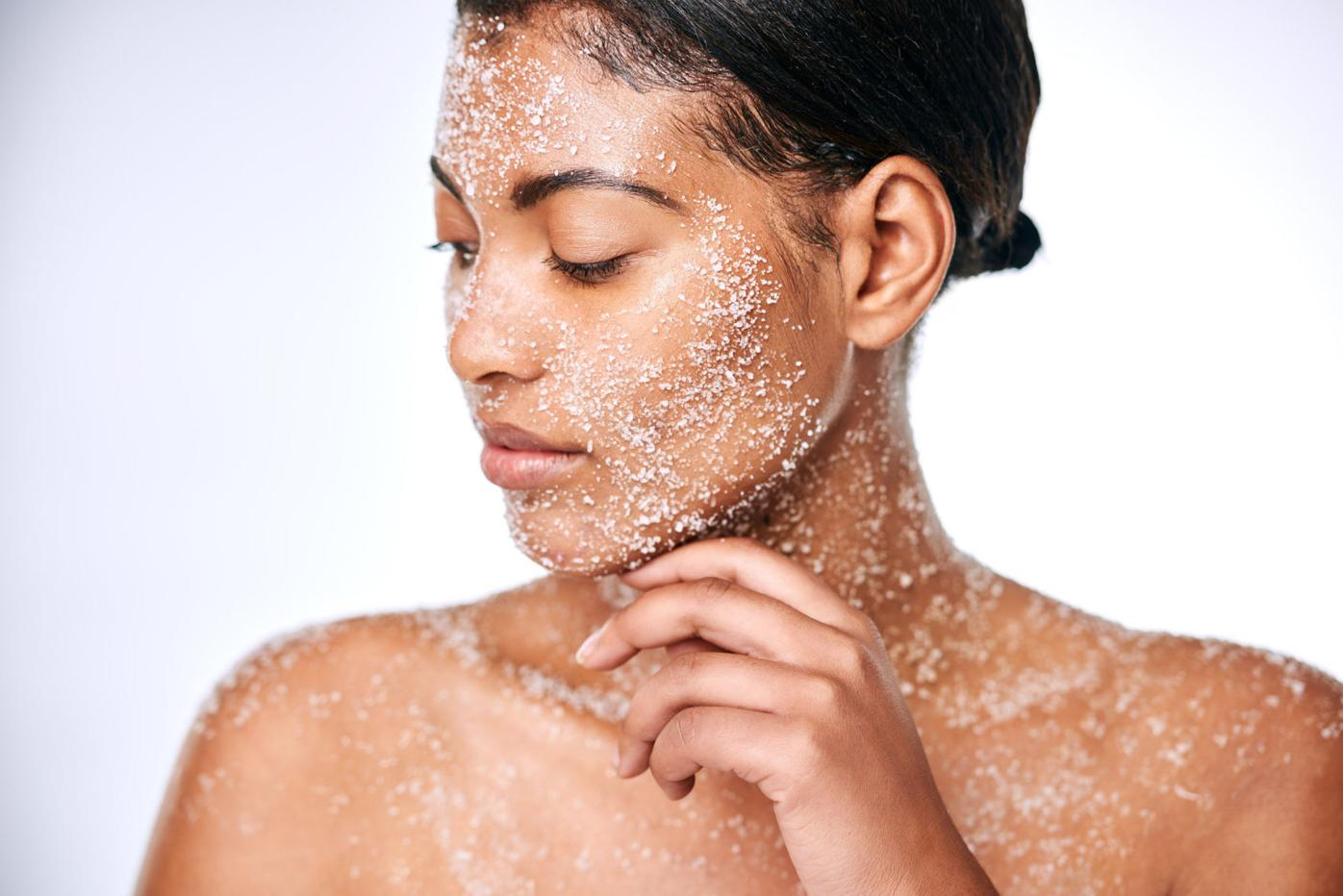 Exfoliate without a scrub for glowing skin