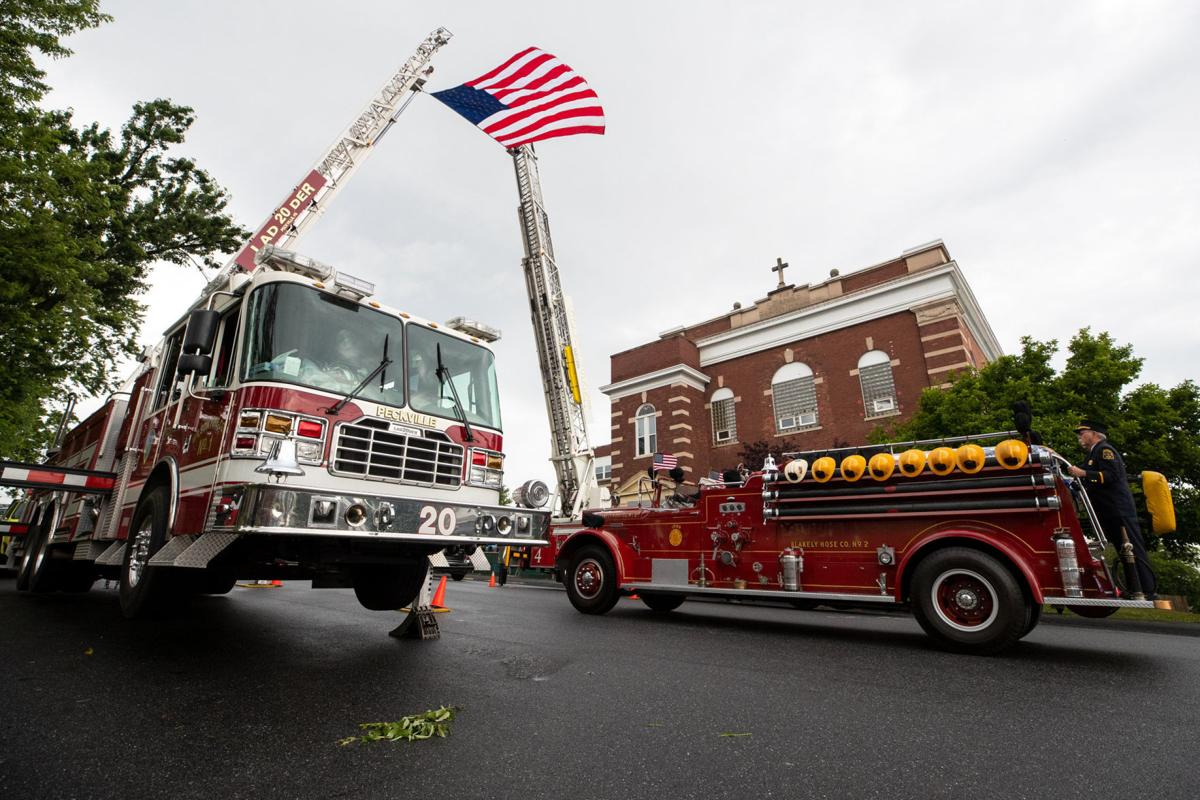 Funeral for Blakely Firefighter Joseph J. Quinn