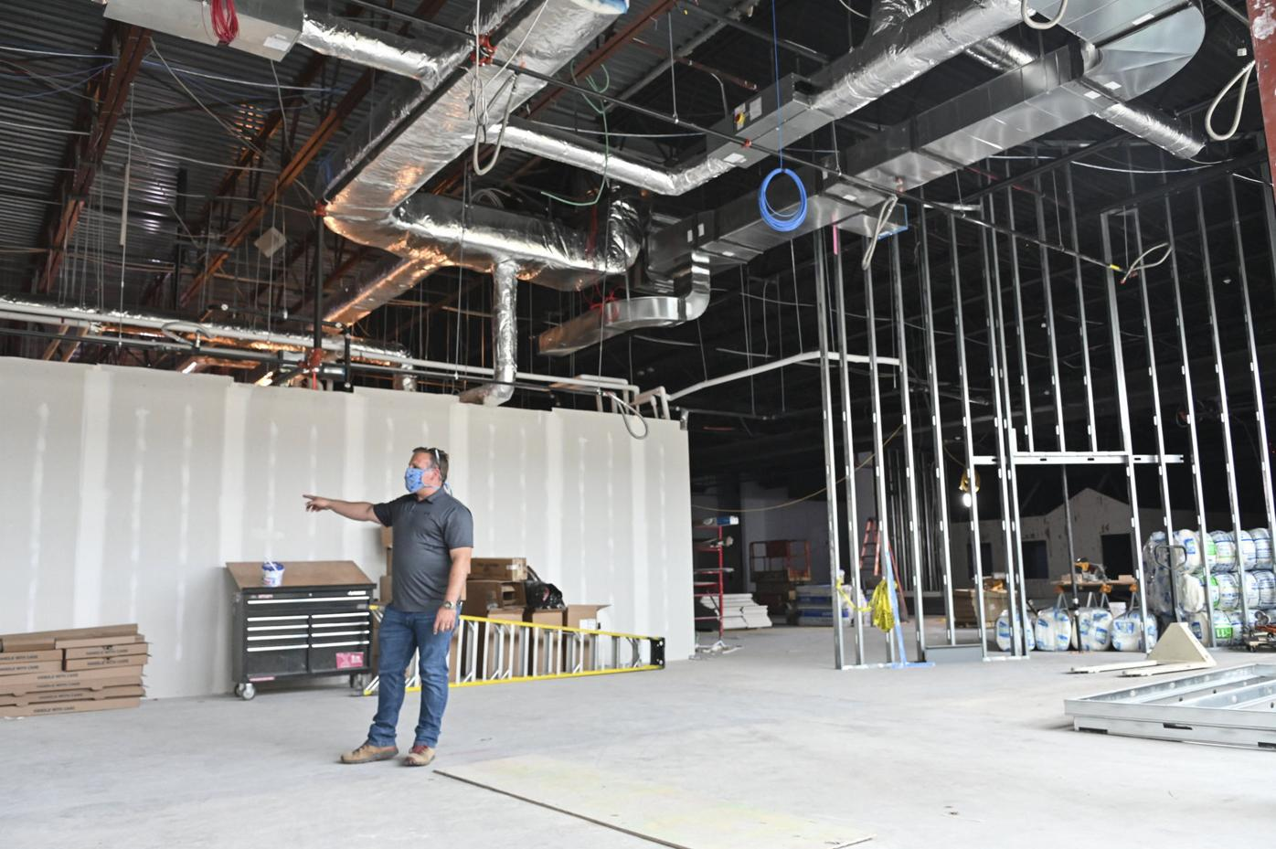 Work wrapping up on first phase of Geisinger space at marketplace