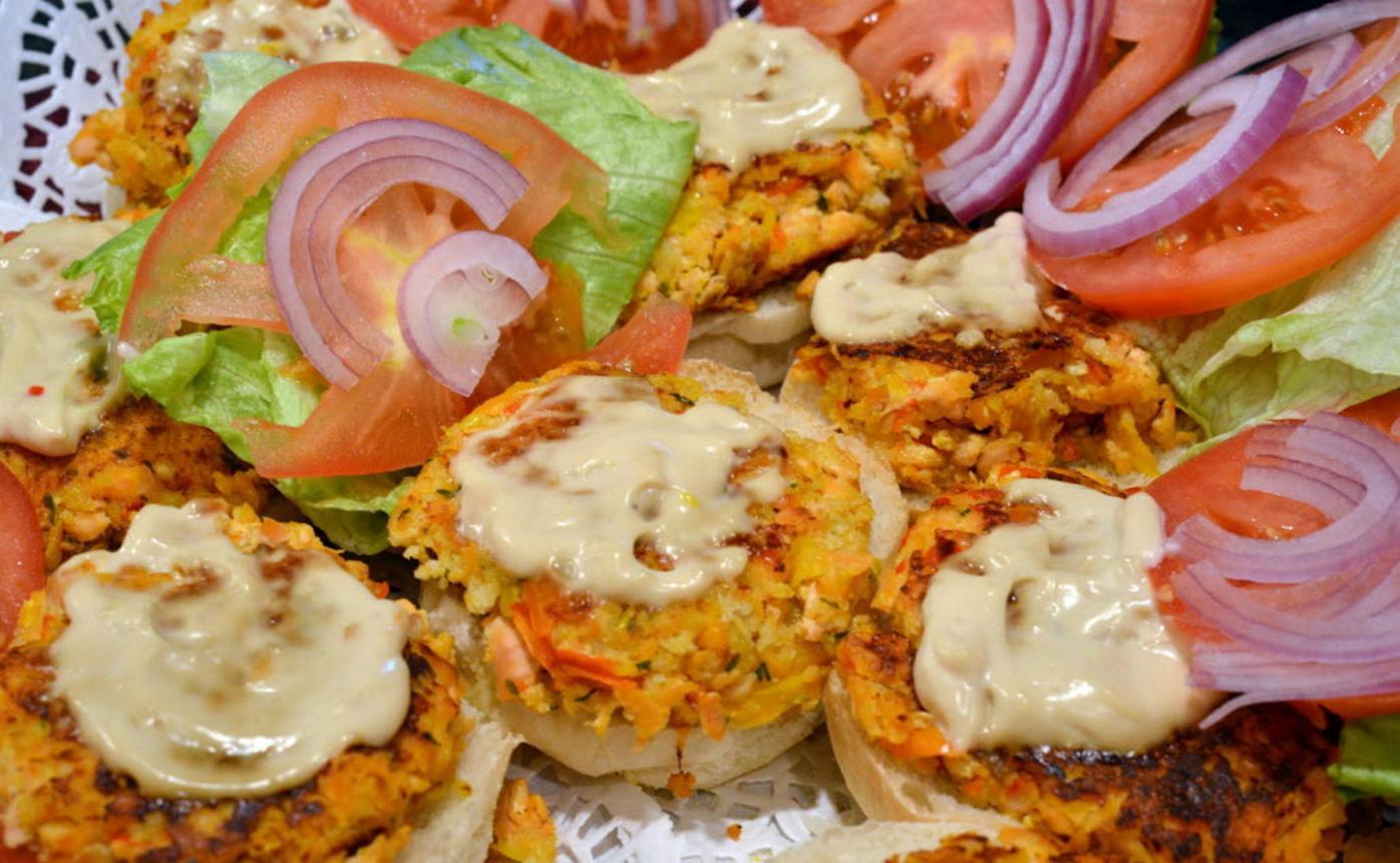 Sara Fumanti's Salmon Burgers
