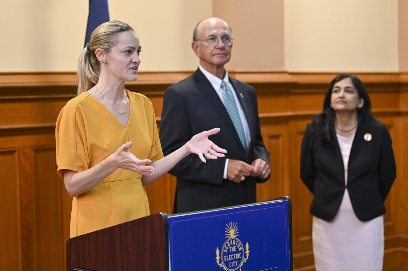 Scranton aims to make new public health coordinator a permanent post
