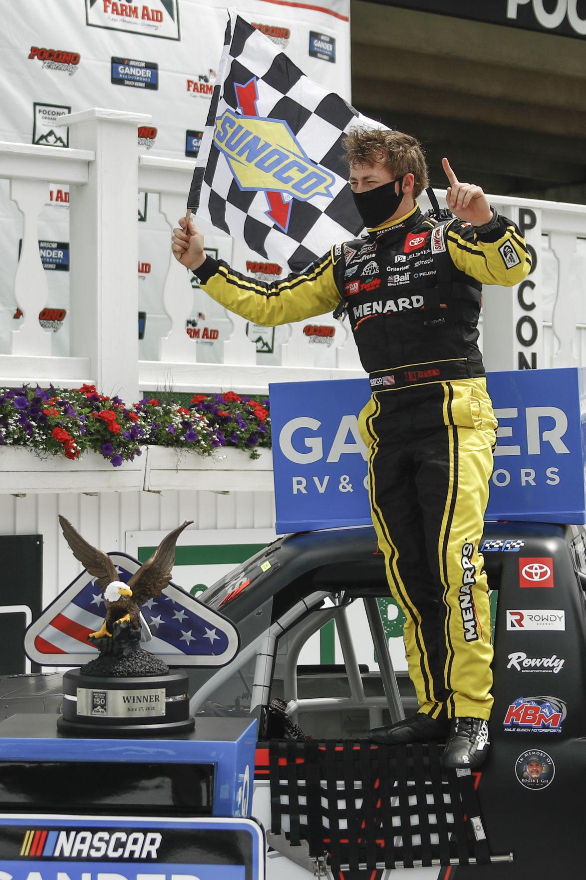 NASCAR Pocono Truck Auto Racing
