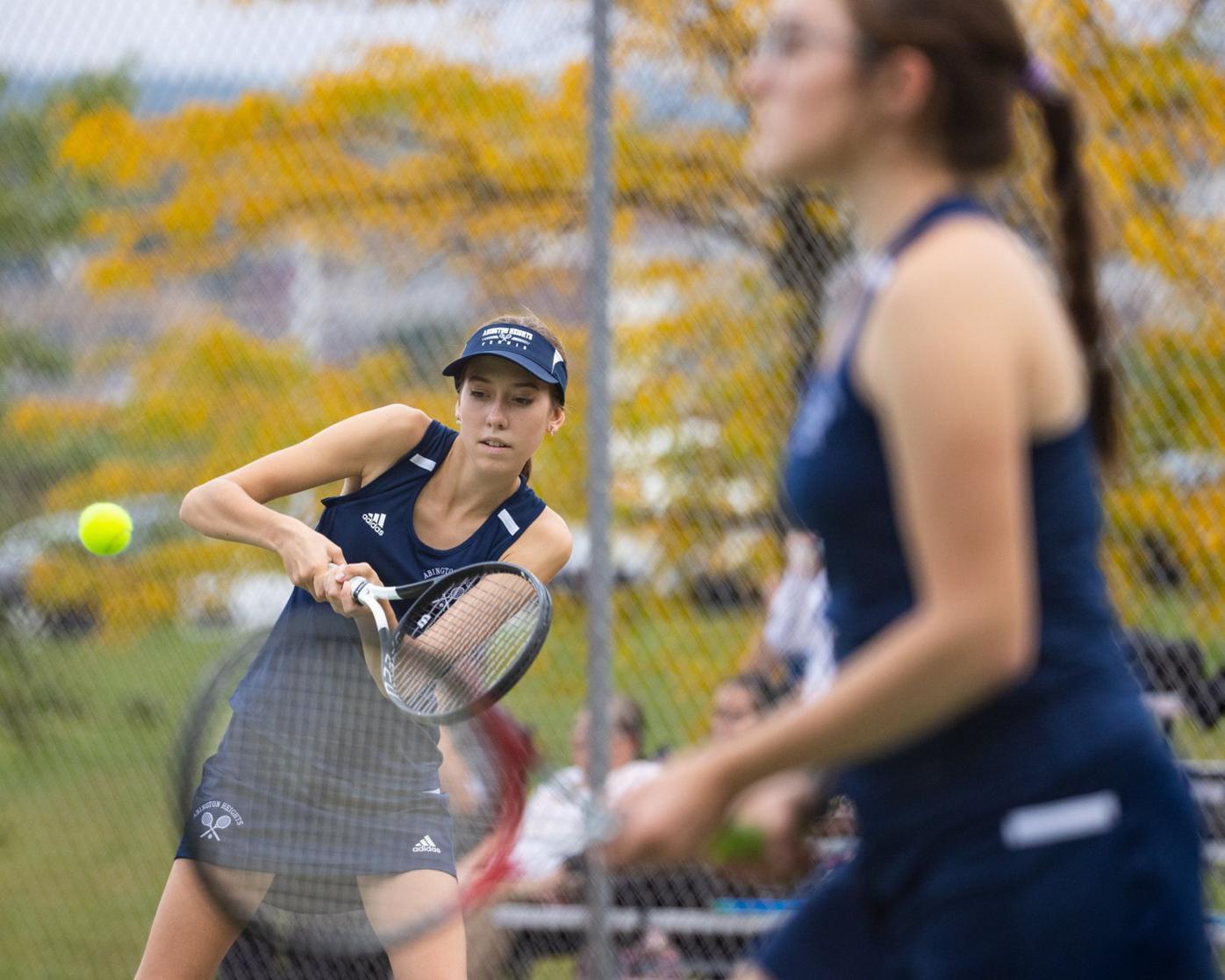 Abington Heights Girls' Tennis at Scranton
