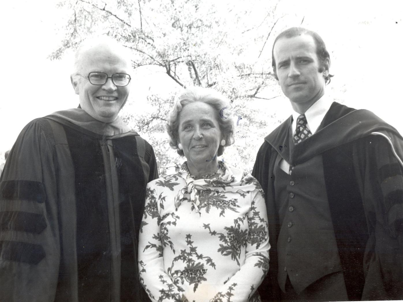 Almost 45 years ago, Biden stepped up when another president bowed out at U of S