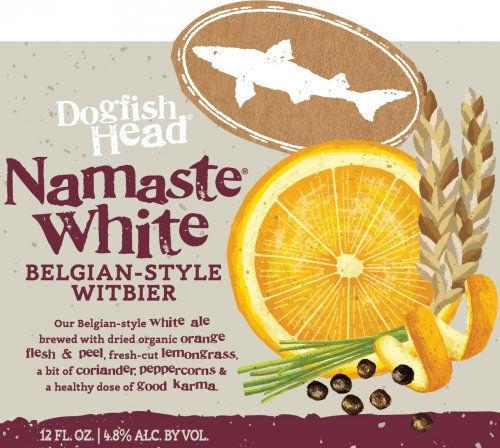 Dogfish Head Brewery's Namaste White