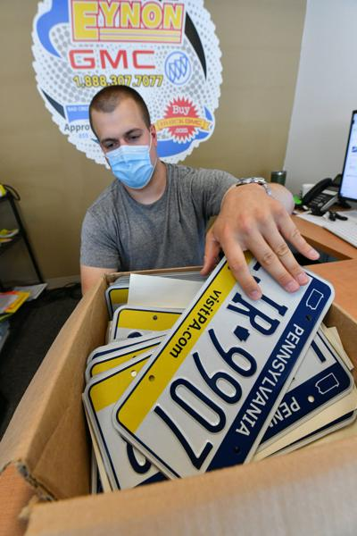 License plate pinch hits area auto dealers, other businesses