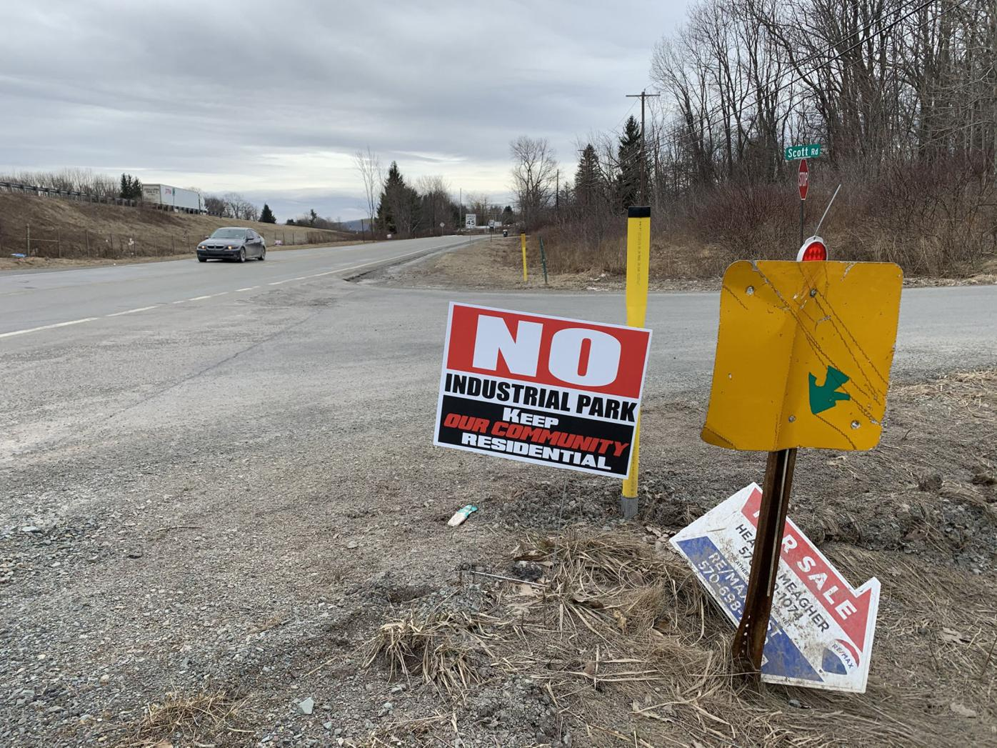 Industrial plans for golf course nixed