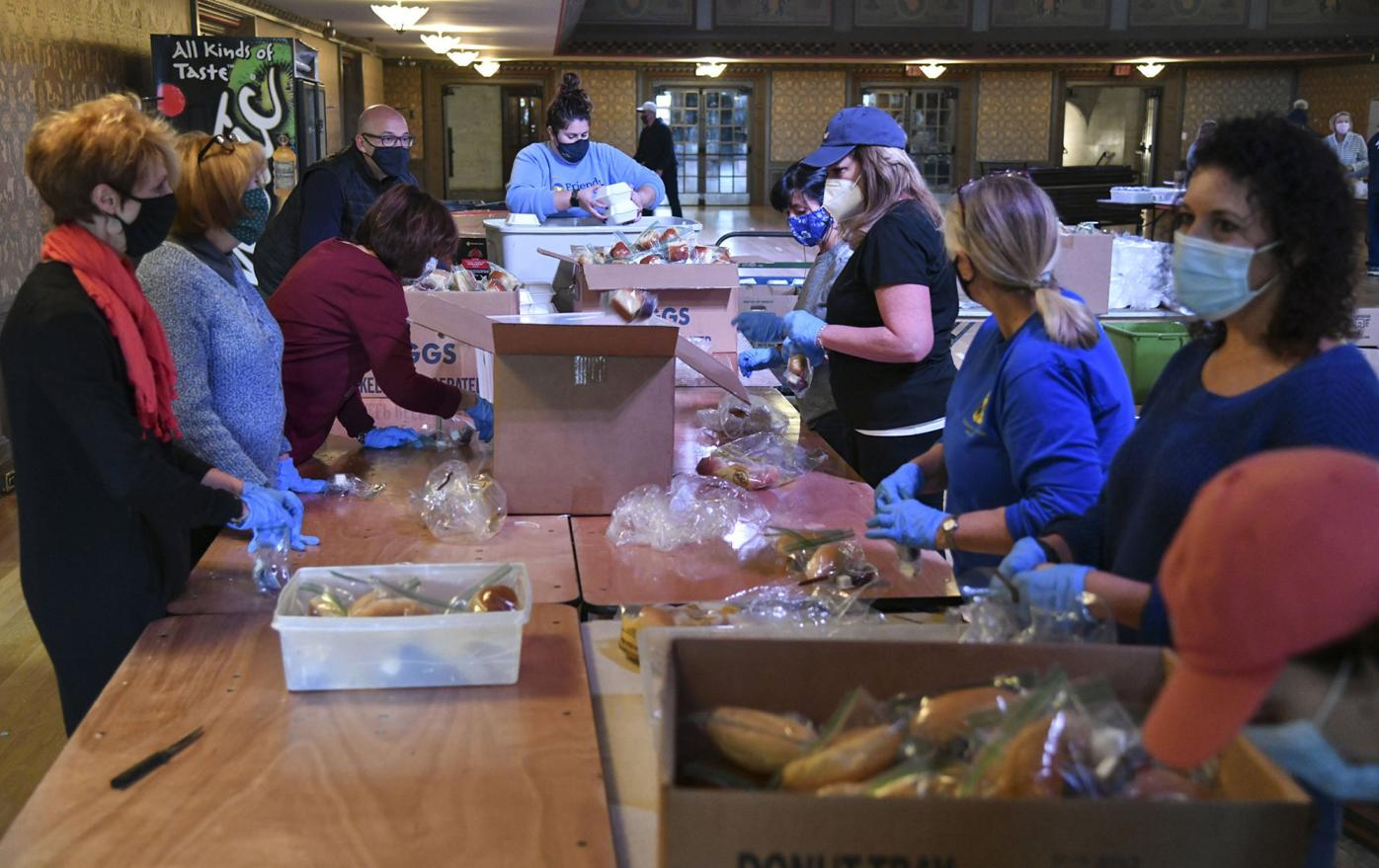 Friends of the Poor Thanksgiving Program kicks of 45th year