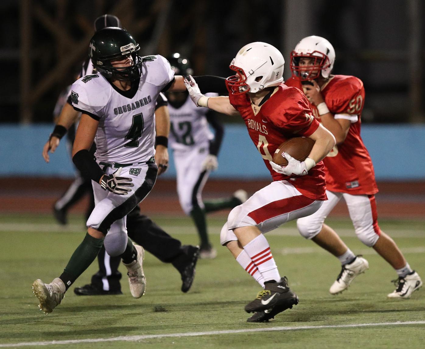 HIGH SCHOOL FOOTBALL: Holy Redeemer vs Holy Cross