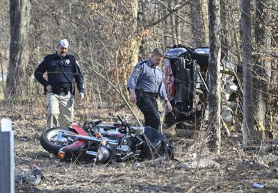 Woman injured in Roaring Brook crash listed in serious condition, a step down from critical