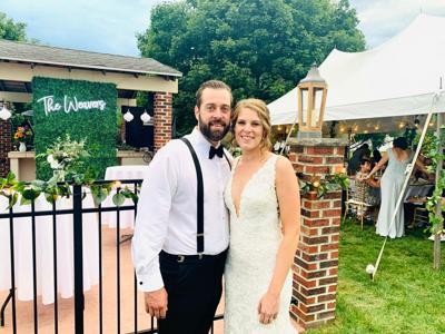 Caterer rescues canceled wedding reception with backyard celebration