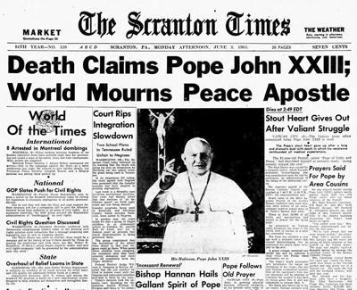 57 Years Ago - Pope John XXIII dies at 81