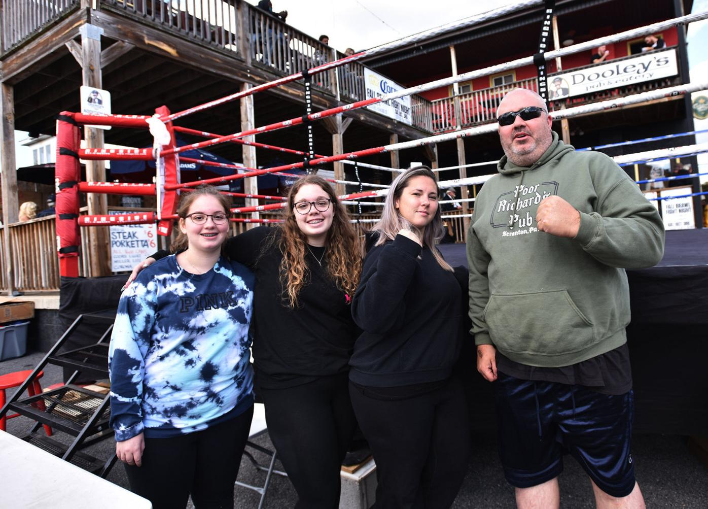 Out&About for amateur boxing at Dooley's Pub & Eatery