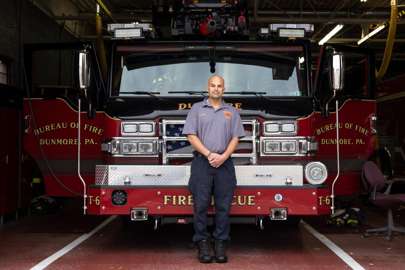 Dunmore firefighter lauded for heroism in fatal fire