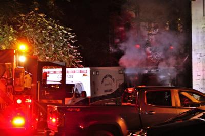 Police, fire inspectors investigate ambulance blaze in Scranton