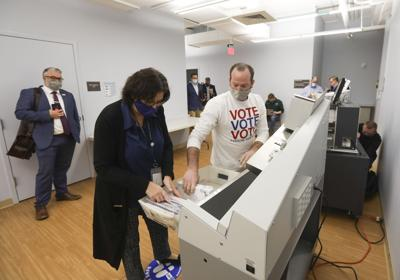 County gets plenty of mail-in ballots but not like last year