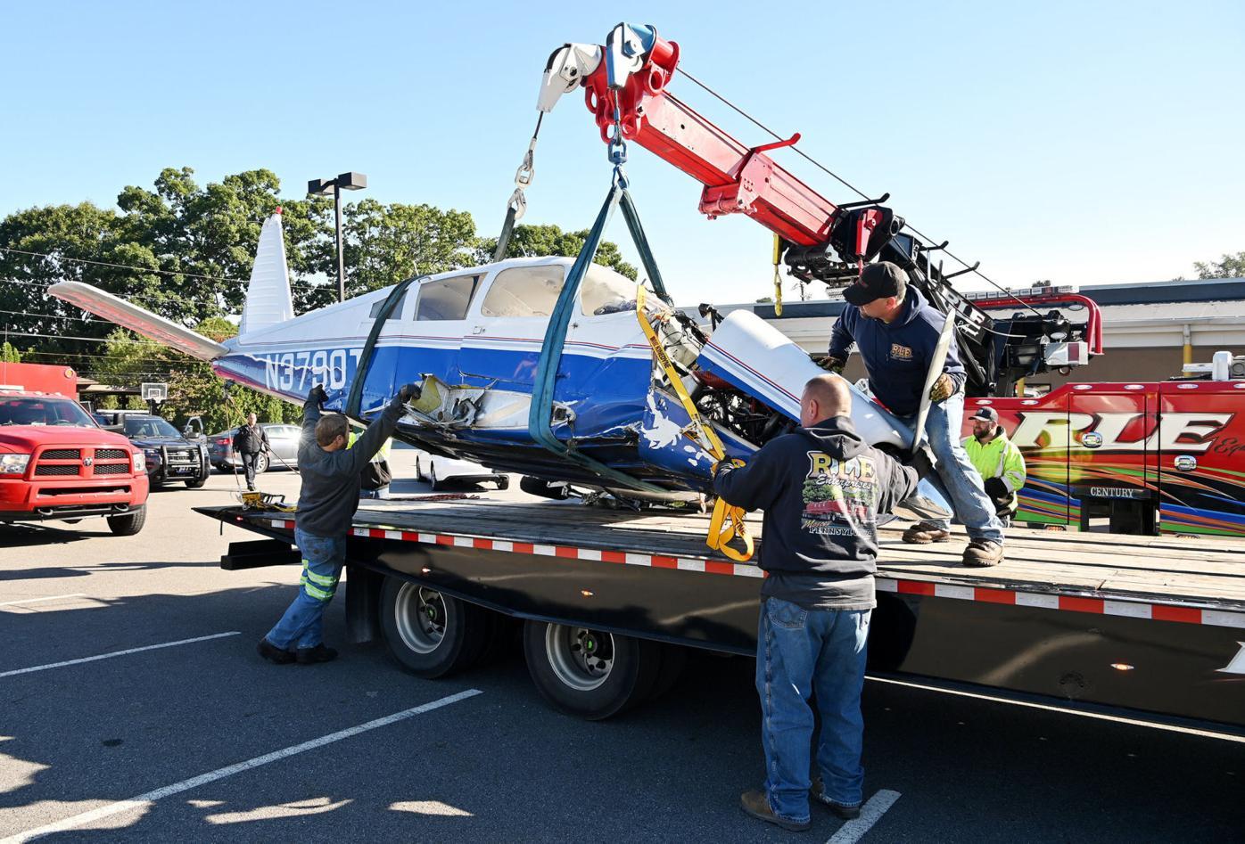 FAA investigates plane crash as Moosic counts itself lucky
