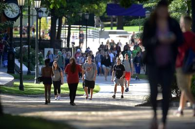 Colleges plan for students' arrival next month