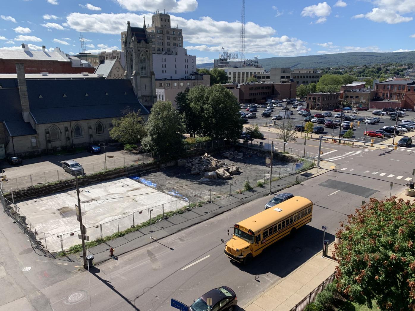 Downtown Scranton pocket park remains work in progress
