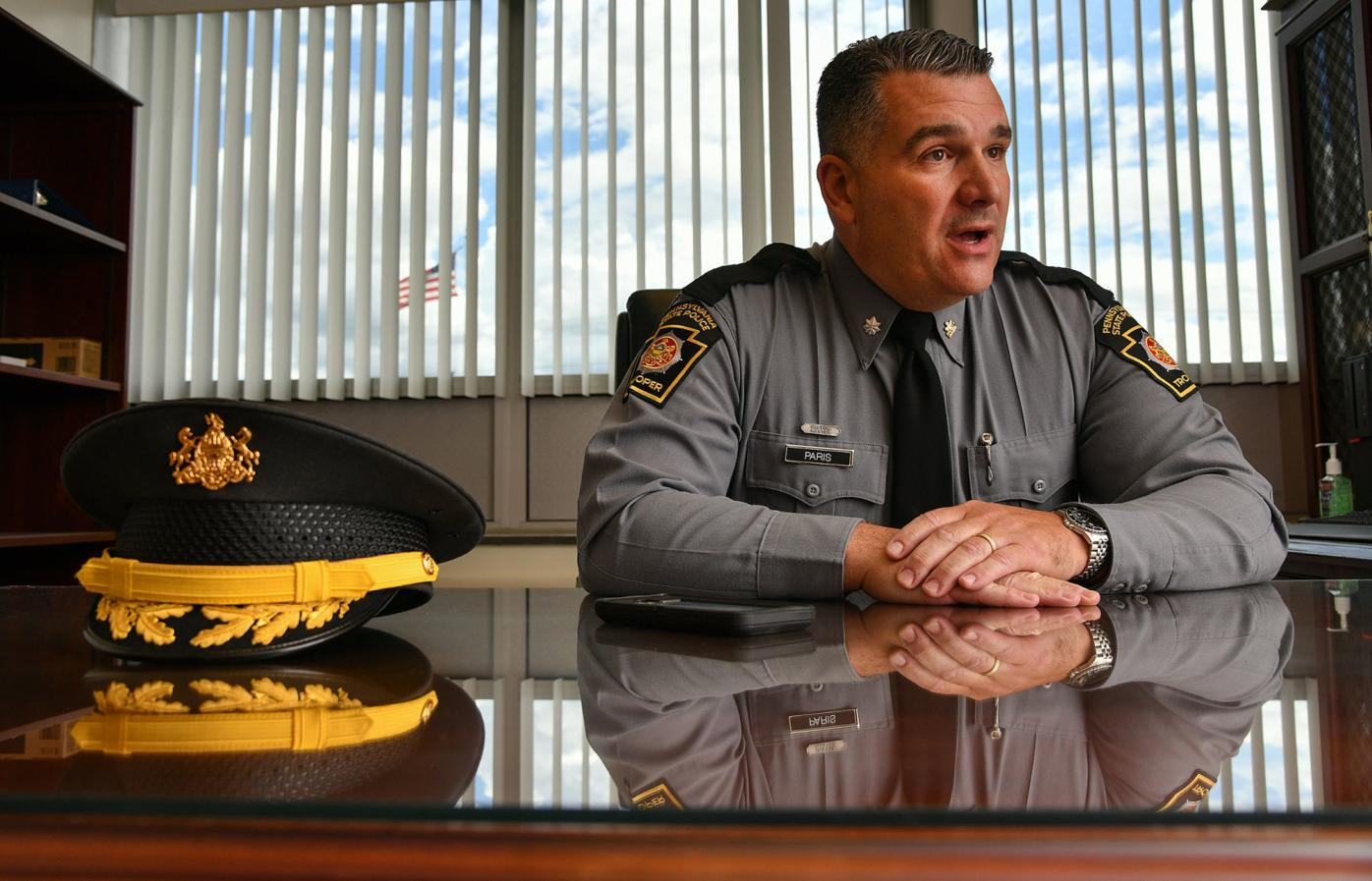 Dunmore man promoted to lieutenant colonel in the state police