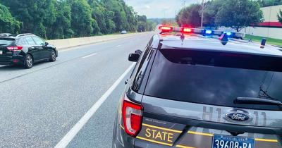 Two New York men charged after traffic stop