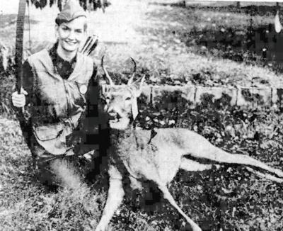 Scranton archer takes a deer