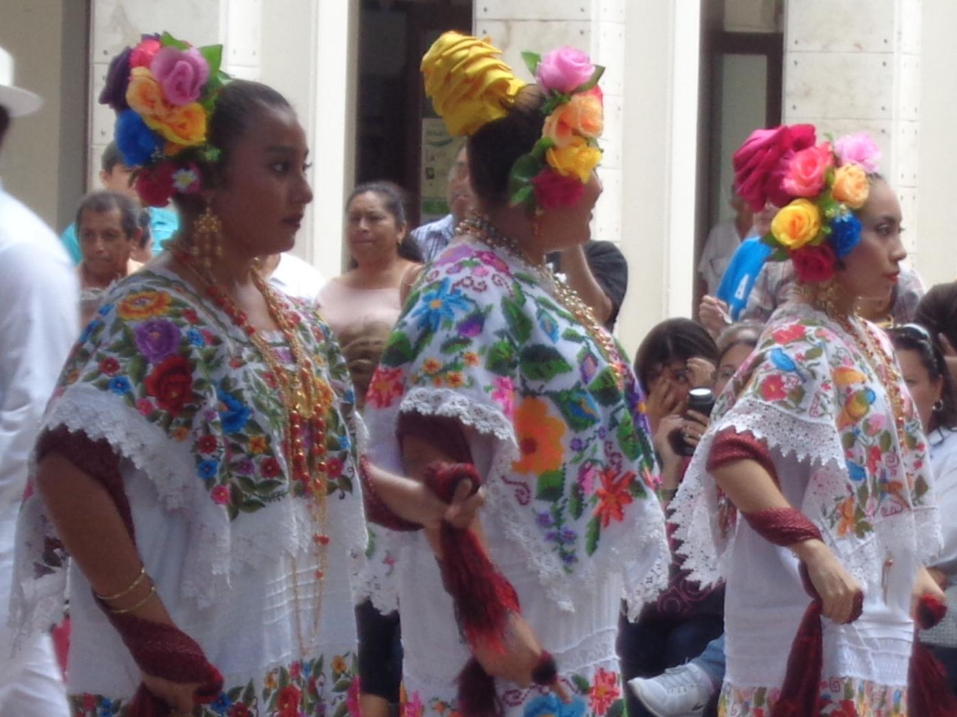 Dancers in Merida