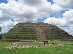 Pyramid in Izamal