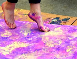 Painting with Dance