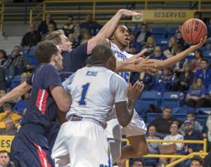 Belmont holds off MSU men