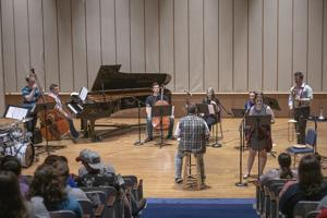 MSU music department combines art and music for performance