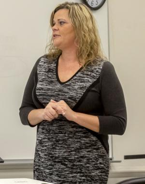 Allyson Cox Taylor speaks about human trafficking