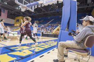 Convergent Media students capture  tournament action in Johnson Arena